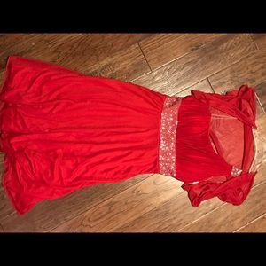 XL Maternity Dress (1 sleeve) with light cover